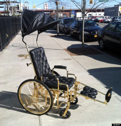 Lady Gaga's Pimped Up and Personalized Wheelchair