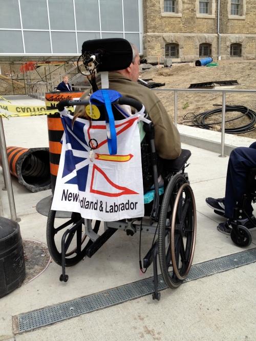 A proud Newfoundlander!