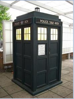 The TARDIS used from 2005 to 2010